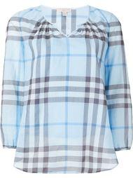 блузка в клетку Burberry Brit