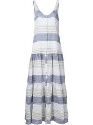 button stripe dress Lisa Marie Fernandez