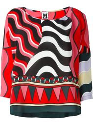 блузка с узором  M Missoni