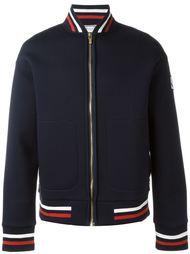трикотажная куртка-бомбер Moncler Gamme Bleu