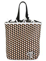 сумка на плечо с геометрическим принтом Emilio Pucci