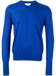 пуловер с V-образным вырезом Ballantyne
