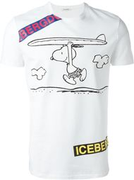 футболка с принтом Snoopy  Iceberg