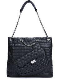 сумка на плечо лоскутного кроя Chanel Vintage