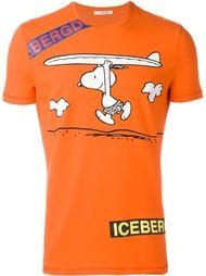 футболка с принтом 'Snoppy' Iceberg
