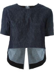 футболка с необработанными краями   Tim Coppens