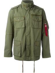 куртка в стиле милитари с карманами Alpha Industries