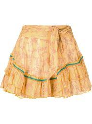 мини-юбка с рюшами Poupette St Barth