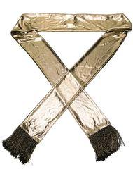 шарф с металлическим отблеском  Saint Laurent