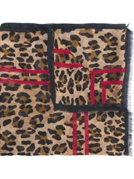 leopard scarf Dsquared2