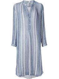 платье-рубашка в полоску Raquel Allegra