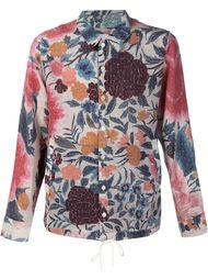 рубашка с цветочным принтом By Walid