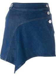 джинсовая мини-юбка Anthony Vaccarello
