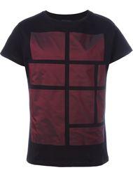 футболка с геометрическим принтом Letasca
