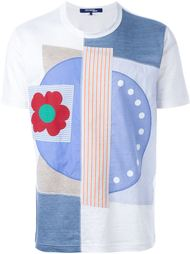 лоскутная футболка Junya Watanabe Comme Des Garçons Man