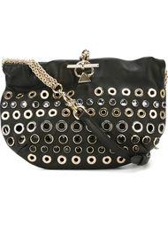 сумка через плечо с декоративными люверсами Sonia Rykiel