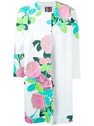 пальто с цветочным принтом I'M Isola Marras