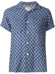 рубашка с жаккардовым узором Engineered Garments