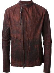 куртка с потертым эффектом на молни  Isaac Sellam Experience