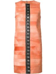 платье-шифт с заклепками Calvin Klein Collection