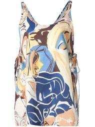 side-tie top Rachel Comey