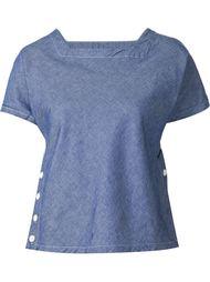 футболка с квадратным вырезом Engineered Garments
