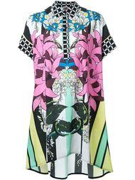 платье-рубашка с цветочным принтом I'M Isola Marras