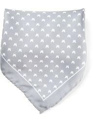 платок с принтом птиц Fefè