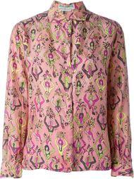 рубашка с графическим принтом Emilio Pucci Vintage