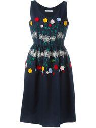 платье 'Tea' с цветочной вышивкой Vivetta