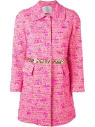 парчовое пальто на пуговицах Giada Benincasa