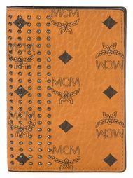 кошелек с монограммным узором MCM