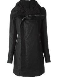 пальто в байкерском стиле  Rick Owens
