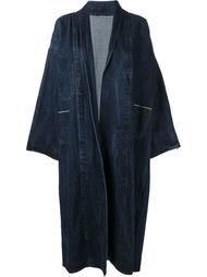 джинсовое пальто  Ermanno Gallamini