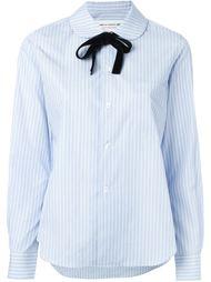 полосатая рубашка с завязкой на бант Comme Des Garçons Girl