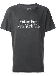 футболка 'Miller'  Saturdays Surf Nyc