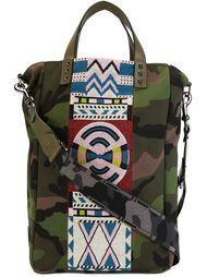 сумка-тоут с камуфляжным принтом  Valentino Garavani