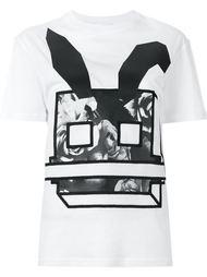 футболка с принтом Electro Bunny  McQ Alexander McQueen