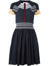 платье с простроченным узором Peter Pilotto