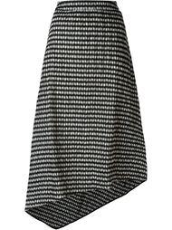 асимметричная юбка в клетку 'Oriani'  Studio Nicholson