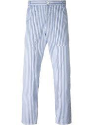 полосатые укороченные брюки  Comme Des Garçons Shirt