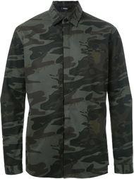 куртка с камуфляжным принтом Assin