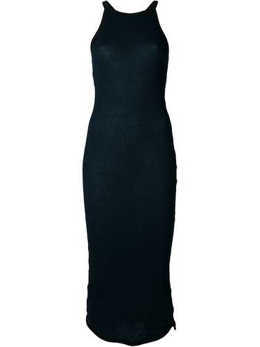 облегающее платье в рубчик Assin