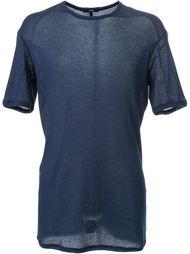 футболка с круглым вырезом Assin