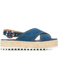 сандалии на платформе Marc Jacobs