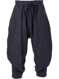 брюки с заниженным шаговым швом Strateas Carlucci