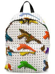 toy gun print backpack Jeremy Scott