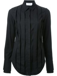 рубашка с плиссировкой спереди Strateas Carlucci