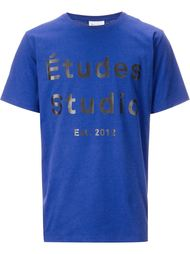 футболка 'Logo' Études Studio