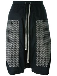 drop-crotch shorts Rick Owens